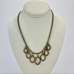 LUCKY BRAND Gold Rhinestone Necklace